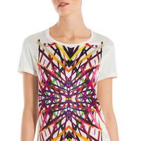 """<p><em>ESCADA Ekada T-Shirt, $375, <a href=""""http://bit.ly/1VATCyi"""">us.escada.com</a></em></p>"""