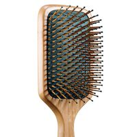 "<p>For your shiniest hair ever, run a light serum or a couple of drops of oil through strands before brushing down the length. </p><p><strong>Agave</strong> Healing Oil Natural Bamboo Paddle Brush, $25, <a href=""http://www.sephora.com/agave-healing-oil-natural-bamboo-paddle-brush-smooth-shine-P388110?skuId=1629443&icid2=category%20search_tools%20&%20brushes:hair%20tools:hair%20brushes%20&%20combs_p388110_image"" target=""_blank"">sephora.com</a>. </p>"