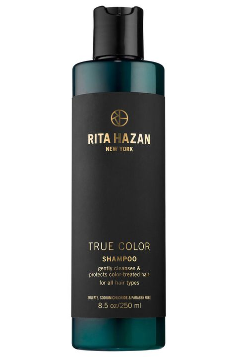 "<p><em>Celebrity colorist and owner of <a href=""http://ritahazan.com/"" target=""_blank"">Rita Hazan Salon</a> in NYC</em></p><p>""I can't live without  <a href=""http://www.sephora.com/true-color-shampoo-P405580"" target=""_blank"">Rita Hazan True Color Shampoo</a> ($26). It's the perfect shampoo for color treated hair that cleanses and hydrates. It's not heavy at all, and leaves your hair is super shiny and smooth.""</p><p><span></span></p>"