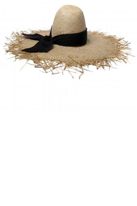 "<p><strong>Gigi Burris Millinery</strong> hat, $355, <a href=""http://gigiburris.com/shop/ete-raffia-hat-2"" target=""_blank"">gigiburris.com</a>. </p>"