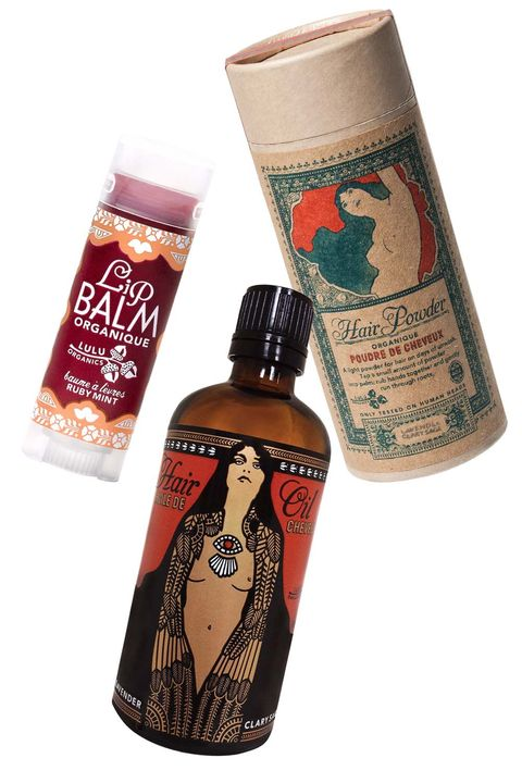 "<p>All you need to convince people you're a fortune teller is a stack of tarot cards and a vanity full of these products. (Plus, the talc-free Hair Powder is kind of magic on dirty hair—a light dusting gets all the oil out and leaves a fragrance of jasmine, amber and lavender behind.)</p><p><span></span><strong>Lulu Organics</strong> Ruby Mint <a href=""http://www.luluorganics.com/products/ruby-mint-lip-balm-15oz"" target=""_blank"">Lip Balm</a>, $10; <a href=""http://www.luluorganics.com/products/lavender-clary-sage-hair-powder-4oz"" target=""_blank"">Hair Powder</a>, $30; and Lavender + Clary Sage <a href=""http://www.luluorganics.com/products/lavender-clary-sage-hair-oil-34oz"" target=""_blank"">Hair Oil</a>, $30, <a href=""http://www.luluorganics.com/"" target=""_blank"">luluorganics.com</a>.</p>"