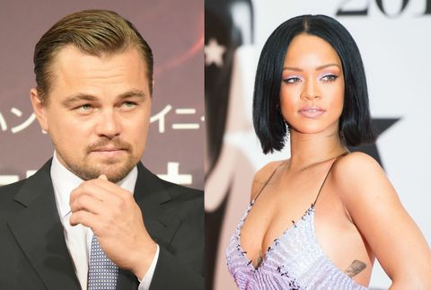 Rihanna and Leonardo DiCaprio Met Up to Party in Vegas