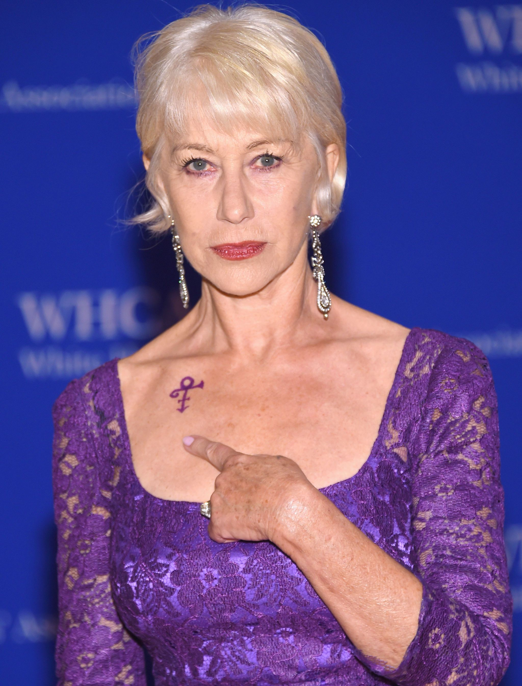 See Helen Mirren's Special Prince Tribute at the White House Correspondents' Dinner