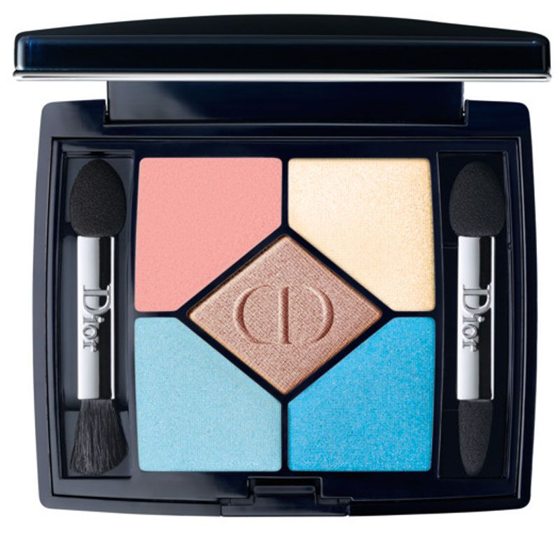 "<p><strong>Dior</strong> 5 Couleurs Polka Dot Summer 2016 Limited Edition in Bain De Mer, $63, <a href=""http://shop.nordstrom.com/s/coul-e-shad-5c-l-ed/4317028?cm_mmc=Google_Product_Ads_pla_online-_-datafeed-_-women%3Amakeup%3Aeye-_-5141360&amp%3Bcountry=US&amp%3Bcurrency=USD&mr%3AreferralID=359d192f-0d6c-11e6-9ece-0050569451e5&gclid=CIKXo9L2scwCFUIfhgodh8IPyQ"" target=""_blank"">nordstrom.com</a>.</p>"