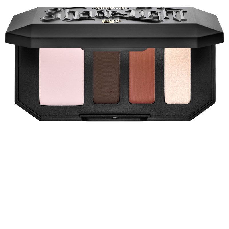 "<p><strong>Kat Von D</strong> Shade + Light Eye Contour Quad in Rust, $26, <a href=""http://www.sephora.com/shade-light-eye-contour-quad-P407872"" target=""_blank"">sephora.com</a>.</p>"