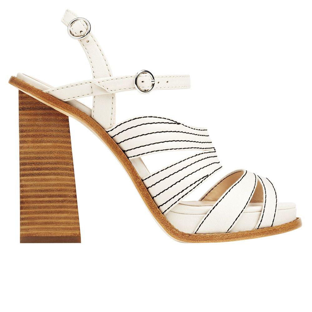 "<p><strong>Misha Nonoo x Aldo Rise </strong>sandal, $160, <strong><a href=""http://www.aldoshoes.com/"">aldoshoes.com</a>.</strong></p>"