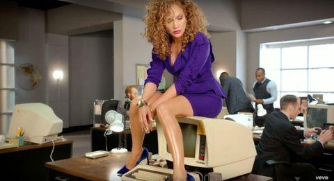 Jennifer Lopez Channels Betty Draper in