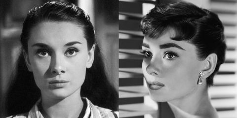 <p>Hepburn may have chopped off her long locks for her coming-of-age role in <em>Sabrina</em> (1954), but the modern coiffed bob became one of her signature looks in the decades that followed. </p>