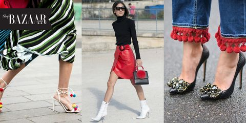 Clothing, Footwear, Leg, Sleeve, Human leg, Textile, Pattern, Red, Joint, Fashion accessory,