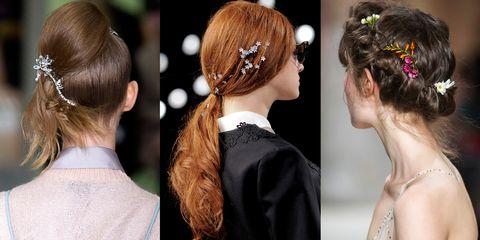 Hair, Head, Ear, Hairstyle, Forehead, Hair accessory, Fashion accessory, Style, Earrings, Headgear,