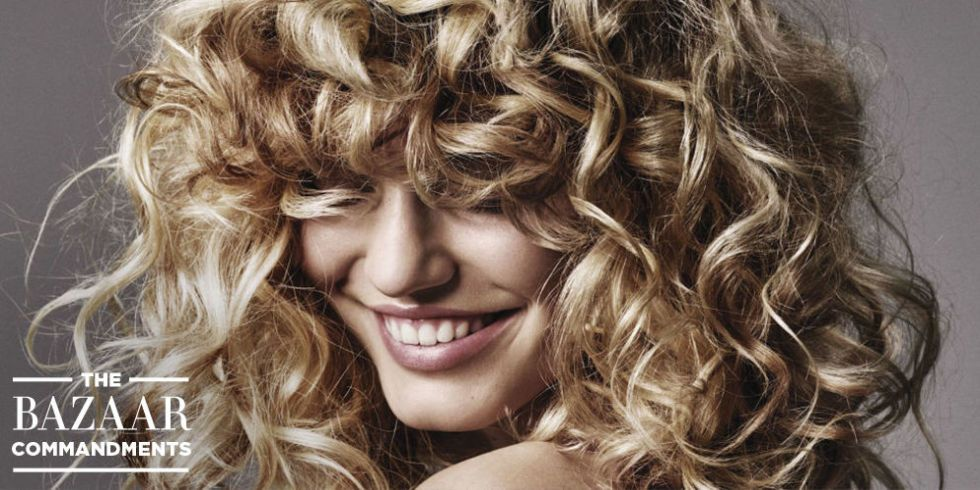 The BAZAAR Commandments: How To Care For Curly Hair