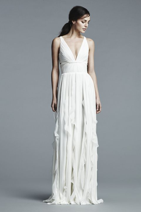 Clothing, Sleeve, Shoulder, Dress, Textile, Standing, Photograph, Joint, White, Gown,