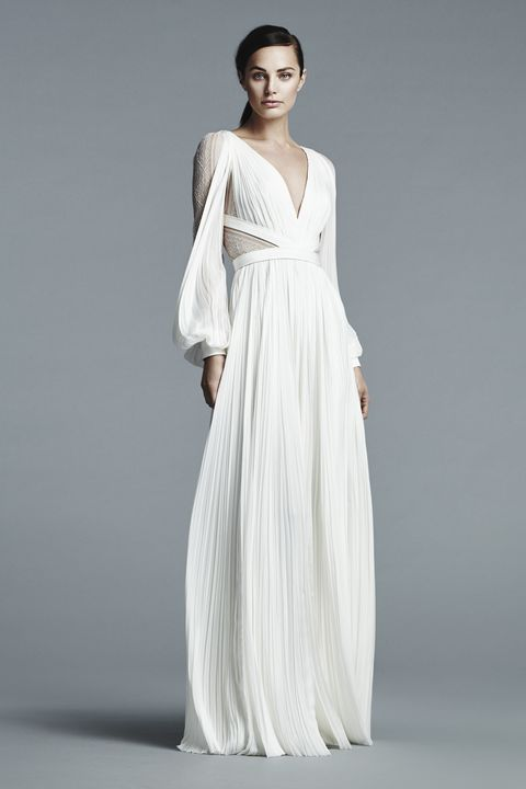 Clothing, Hairstyle, Dress, Sleeve, Shoulder, Textile, Joint, Standing, White, Elbow,