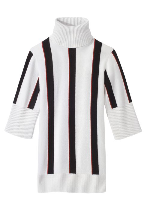 """<p>""""When it comes to tops, I like something simple and easy to re-wear."""" <strong>Chanel</strong> sweater, $2,050, 800-550-0005.</p>"""