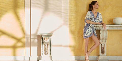 Leg, Human body, Human leg, Dress, One-piece garment, Beauty, Day dress, Transparent material, Calf, Cocktail dress,