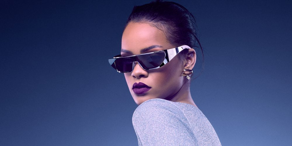 98eebb00fa1eb Rihanna Took Inspiration For Her New Dior Sunglasses From A Surprising  Person