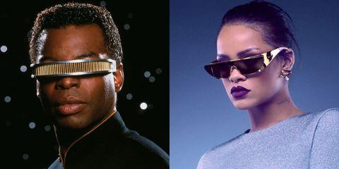 cc82f77030 Rihanna Dior Sunglasses Collaboration - Rihanna Designs Sunglasses ...