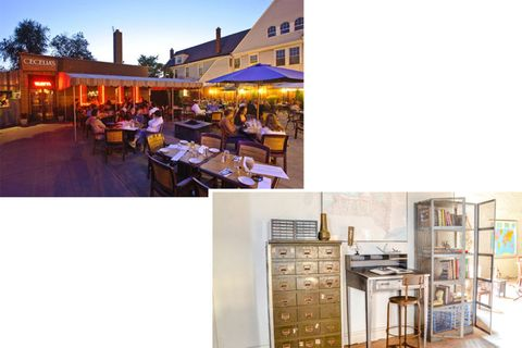 "<p>My sister and brother happen to own <a href=""http://www.ceceliasristorante.com/"" target=""_blank"">Cecelia's</a>, the restaurant with the best outdoor patio in the city on Elmwood Avenue. There's some fantastic food in Buffalo&#x3B; <a href=""http://www.buffaloproper.com/"" target=""_blank"">Buffalo Proper</a>'s owners have presented at the James Beard Mansion and have a fantastic cocktail list and <a href=""http://cravingbuffalo.com/"" target=""_blank"">Craving</a> on Hertel Avenue has also been recognized by James Beard. I love doing yoga in an old mansion at <a href=""http://poweryogabuffalo.com/"" target=""_blank"">Power Yoga Buffalo</a> and visits to <a href=""http://www.darwinmartinhouse.org/"" target=""_blank"">The Martin House</a> designed by Frank Lloyd Wright and the <a href=""http://www.albrightknox.org/"" target=""_blank"">Albright Knox Art Gallery</a> are cultural musts. For shopping, there are serious estate furniture finds at <a href=""http://www.coocoou27.com/"" target=""_blank"">coocoou27</a> on Chandler Street. - <em>Kerry Pieri, Digital Fashion & Features Editor</em></p>"