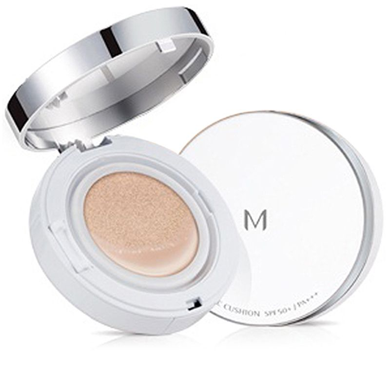"<p>With silica-bead powder, this cushion compact will absorb sweat and prolong makeup.</p><p><strong>Missha </strong>M Magic Cushion, $19, <a href=""https://sokoglam.com/products/missha-m-magic-cushion-spf50-pa"" target=""_blank"">sokoglam.com</a>. </p>"
