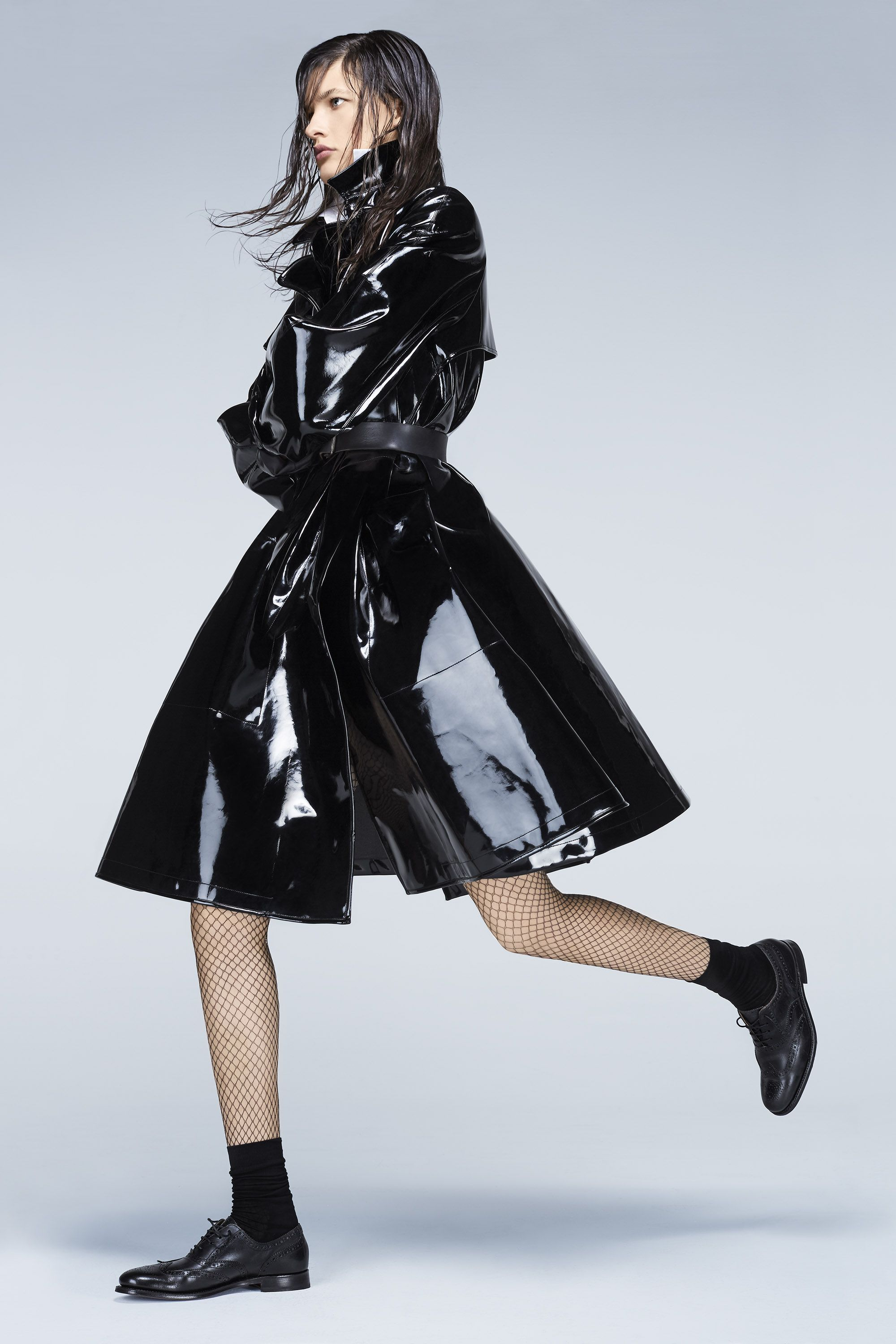 "<p><strong>Giorgio Armani </strong>coat, $6,195, and shirt, $825, 212-988-9191; Stylist's own belt; <strong>Wolford</strong> tights, $57, and socks, $29, <a href=""http://company.wolford.com/?lang=en"" target=""_blank"">wolford.com</a>; <strong>Grenson</strong> shoes, $420, <a href=""http://www.grenson.com/us/"" target=""_blank"">grenson.com</a>. </p>"