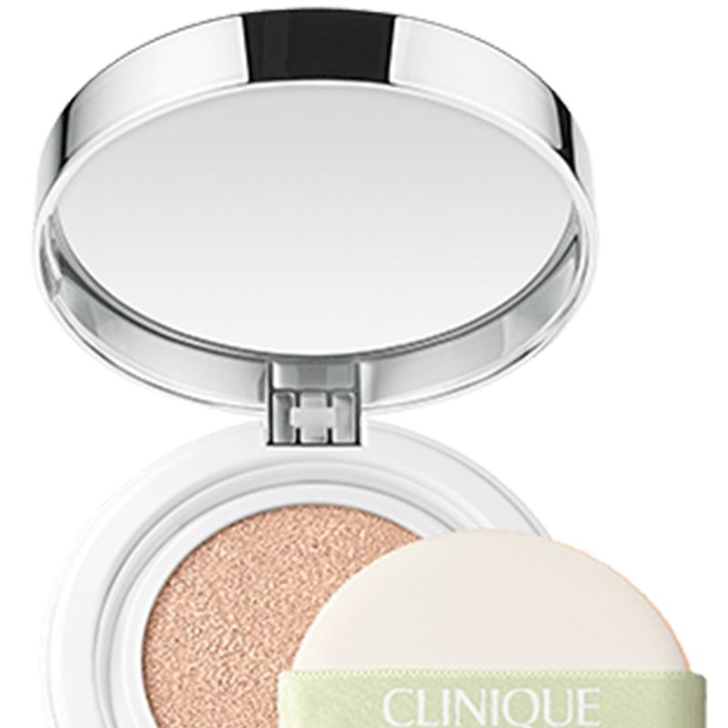 "<p>Contains both SPF and antioxidants as an extra boost to stave off environmental pollutants. The finish is more matte than dewy. </p><p><strong>Clinique</strong> Super City Block BB Cushion Compact Broad Spectrum SPF 50, $35, <a href=""http://www.clinique.com/product/1599/40932/Makeup/Foundations/Super-City-Block-BB-Cushion-Compact-Broad-Spectrum-SPF-50"" target=""_blank"">clinique.com</a>. </p>"