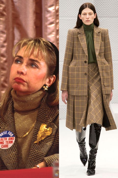 <p>When in doubt, embrace the plaid side as Hillary did on the campaign trail with husband Bill Clinton. </p>