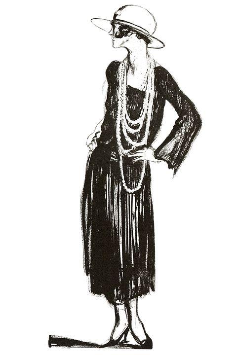 Sleeve, Human body, Standing, Style, Headgear, Costume accessory, Art, Costume design, Fashion illustration, Monochrome,