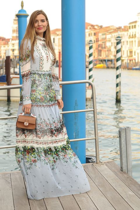 Dress, Bag, Style, Street fashion, Teal, Luggage and bags, Pattern, Day dress, One-piece garment, Turquoise,