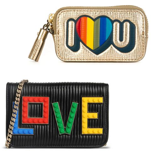 "<p>State it loud and clear...</p><p><br></p><p><em><strong>Anya Hindmarch</strong> ""I Heart You"" coin purse, $350, <strong><a href=""https://shop.harpersbazaar.com/designers/a/anya-hindmarch/coin-purse-keychain-9175.html"" target=""_blank"">shopBAZAAR.com</a></strong>; <strong>Les Petits Joueurs </strong>$720, <strong><a href=""https://shop.harpersbazaar.com/designers/l/les-petits-joueurs/love-crossbody-bag-9021.html"" target=""_blank"">shopBAZAAR.com</a></strong>. </em></p><p><br></p>"
