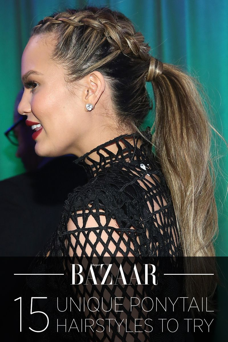 20 New Ways to Wear a Ponytail - Best Celebrity Ponytails of 2017