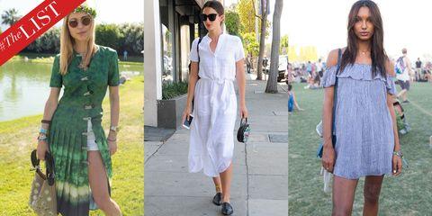 Clothing, Eyewear, Vision care, Sunglasses, Textile, White, Bag, Fashion accessory, Dress, Style,