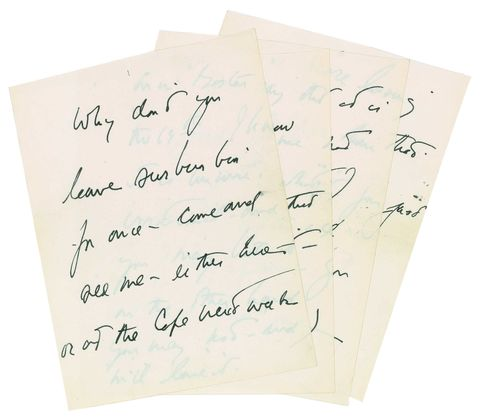 jfk love letter auction
