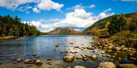 Body of water, Nature, Sky, Mountainous landforms, Natural landscape, Cloud, Water, Water resources, Landscape, Highland,