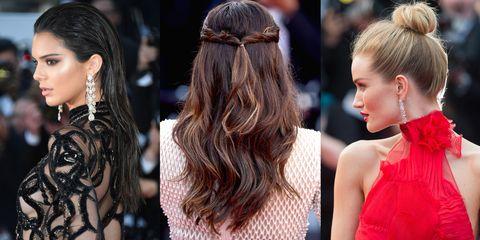 Hair, Ear, Hairstyle, Earrings, Hair accessory, Style, Beauty, Long hair, Fashion accessory, Fashion,