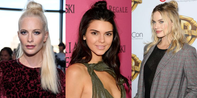 Our New Celebrity Hairstyle Crush: The Half Bun