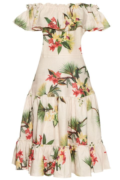 "<p><strong>Isolda</strong> dress, $676, <a href=""https://www.modaoperandi.com/brock-r16/floral-silk-jacquard-delhi-dress"" target=""_blank"">matchesfashion.com</a>.</p>"
