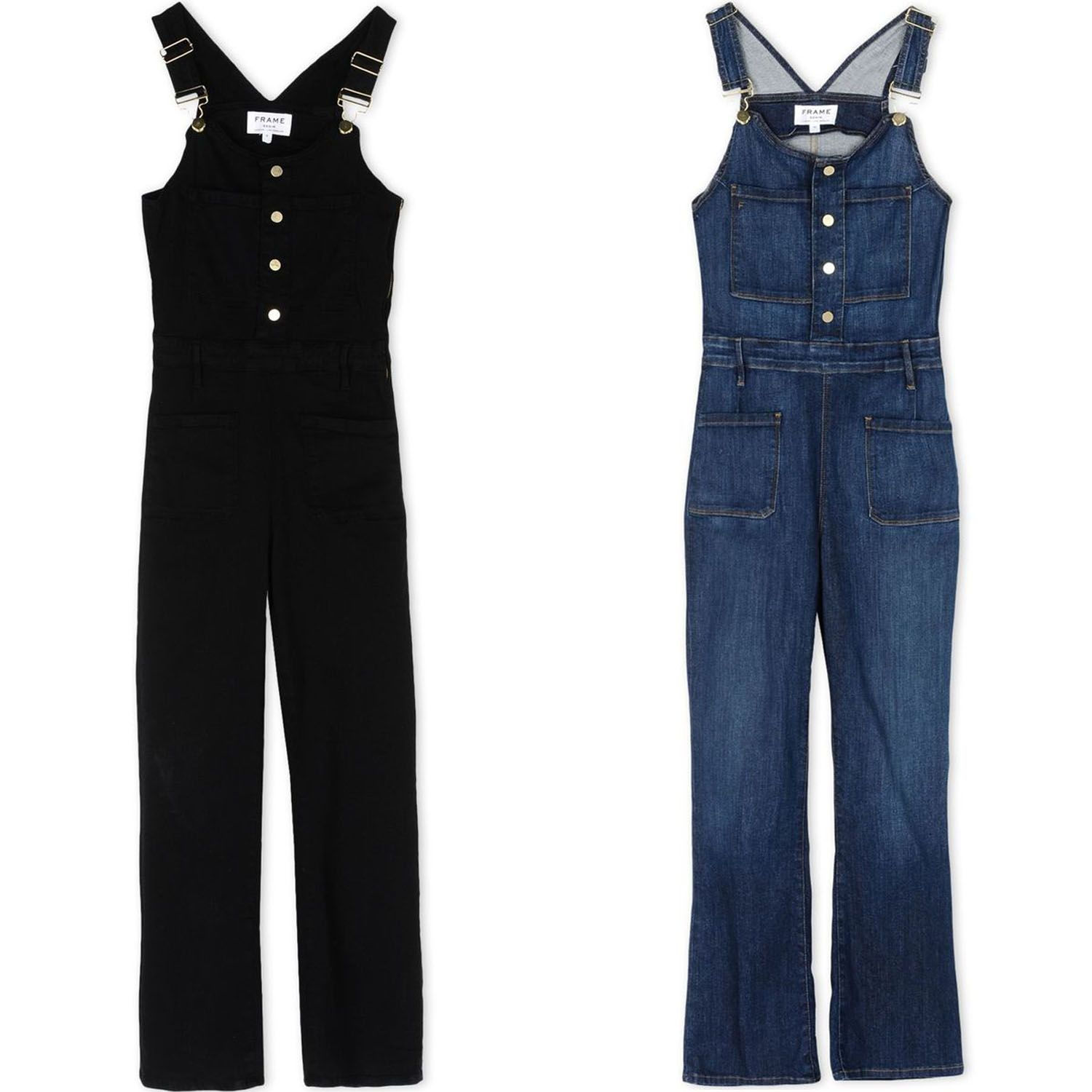 "<p>When it comes to lazy days on a blanket you can't go past the laziest way to get dressed: a ""onesie."" Our choice? Downtown-<em>esque</em> denim overalls. </p><p><br></p><p><em><strong>Frame</strong> black denim overall, $234 (sale), <strong><a href=""https://shop.harpersbazaar.com/designers/f/frame/black-denim-overall-9245.html"" target=""_blank"">shopBAZAAR.com</a></strong></em><span class=""redactor-invisible-space""><em>; <strong>Frame</strong> blue denim overall, $234 (sale), <strong><a href=""https://shop.harpersbazaar.com/designers/f/frame/denim-overall-9244.html"" target=""_blank"">shopBAZAAR.com</a></strong></em><span class=""redactor-invisible-space""><em>.</em></span><br></span></p>"