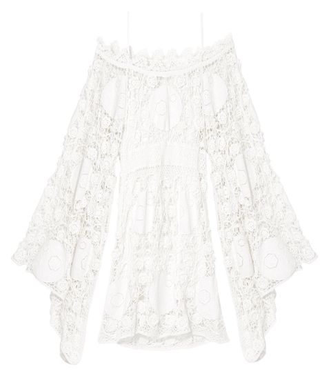 "<p><strong>Chloé</strong><strong></strong> dress, $3,895, <a href=""https://shop.harpersbazaar.com/designers/c/chlo/handmade-crochet-dress-with-embroidered-flowers-8336.html"" target=""_blank"">shopBAZAAR.com</a>. </p>"