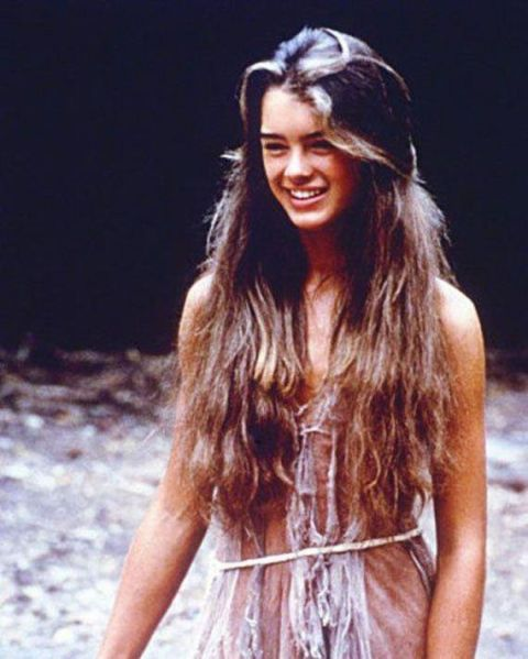 <p>Brooke Shields in <em>The Blue Lagoon</em></p>