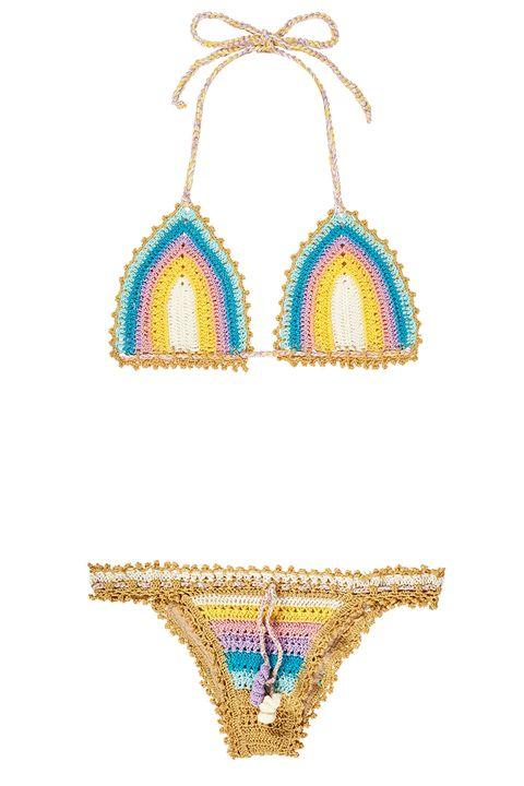 """<p><strong>Pily Q </strong>bikini, $208, <a href=""""https://riobum.com/product/romance-crochet-bikini-by-pily-q/"""" target=""""_blank"""">riobum.com</a>. </p>"""