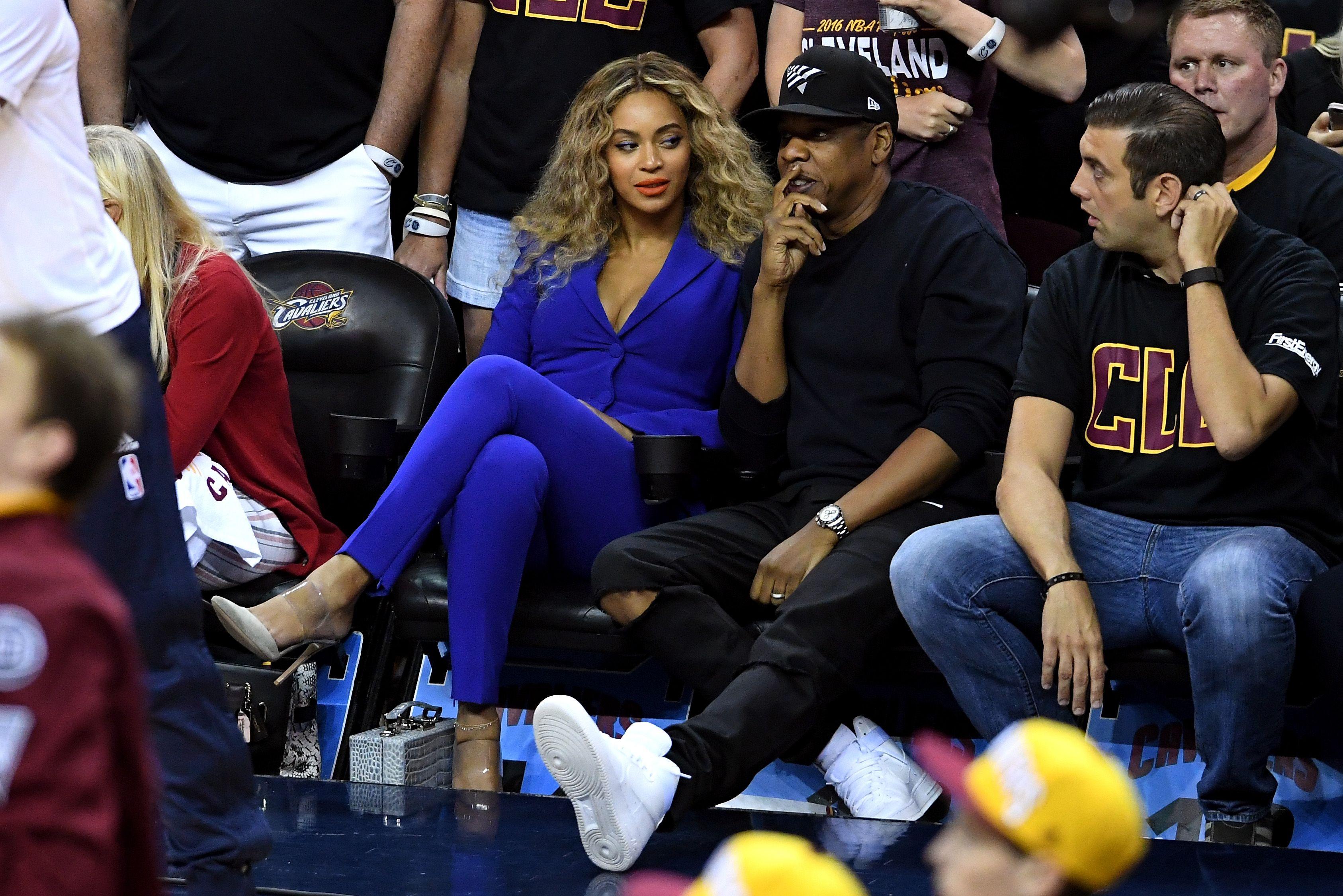 3af47ea11c28cc The Real Story Behind Beyoncé s Courtside Side-Eye - Beyoncé NBA Finals Side-Eye  Photo