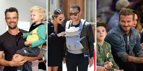 24 Famous Dads With Their Mini-Mes