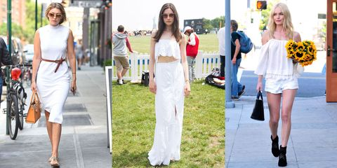 14 Inspiring White Outfits to Copy This Summer