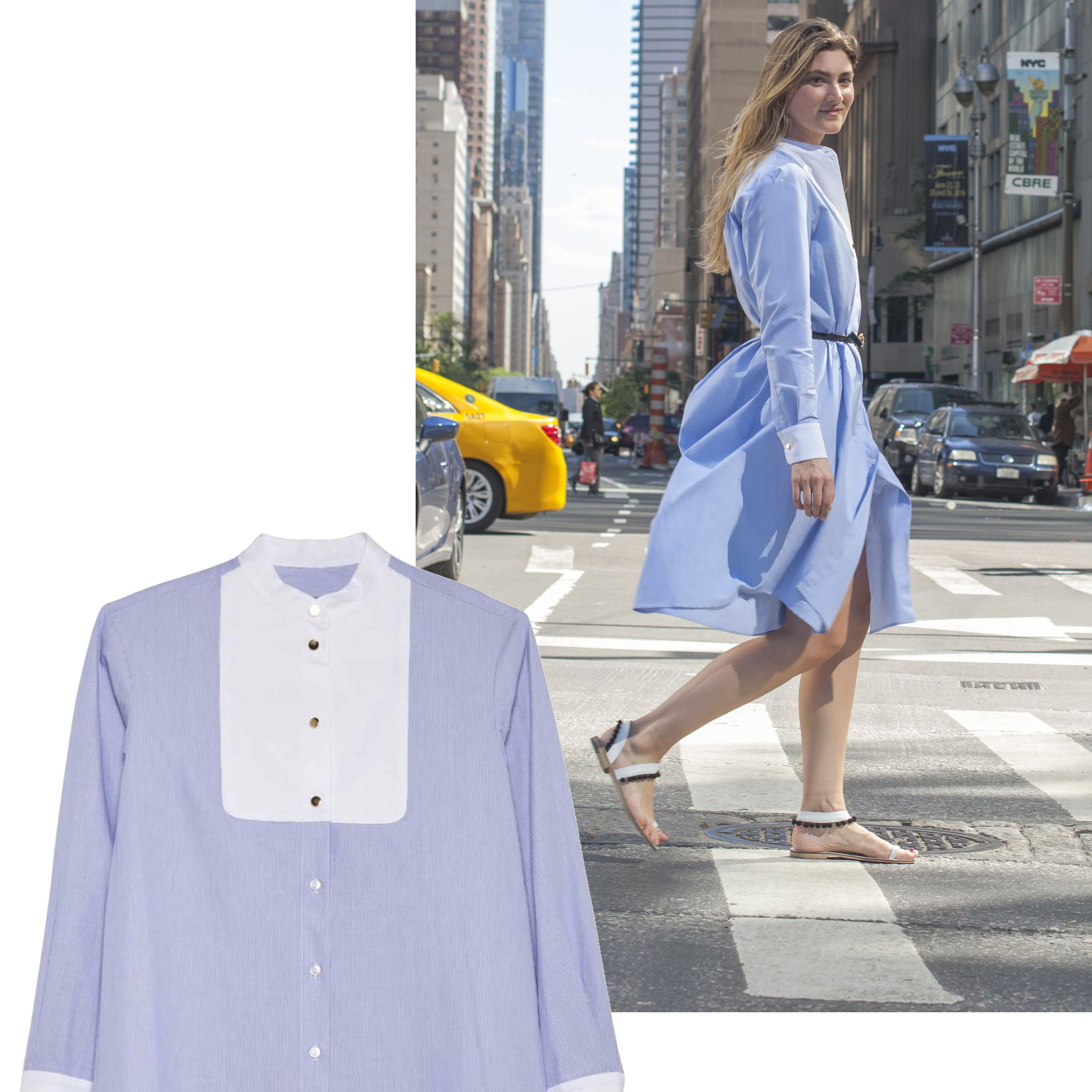 "<p><em><strong>Macgraw</strong> shirt dress, $425, <strong><a href=""https://shop.harpersbazaar.com/designers/m/macgraw/pony-shirt-dress-9497.html"" target=""_blank"">shopBAZAAR.com</a></strong>. </em></p>"