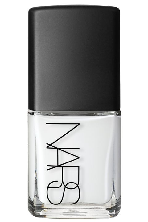 "<p><strong>NARS </strong>Nail Polish in Ecume,$20, <a href=""http://www.narscosmetics.com/USA/ecume-nail-polish/0607845036418.html?cm_mmc=SEM-_-Google-_-NRE_G_USA_PLA_PLA_SHOPPING-_-PLA&gclid=CjwKEAjwy6O7BRDzm-Tdub6ZiSASJADPNzYr5t59KBZ5SMKiXcDB_-Tu13Kqy7nOrAm7IPYSi99DdBoCX1_w_wcB"" target=""_blank"">narscosmetics.com</a>.</p>"