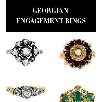 Georgian Engagement Rings
