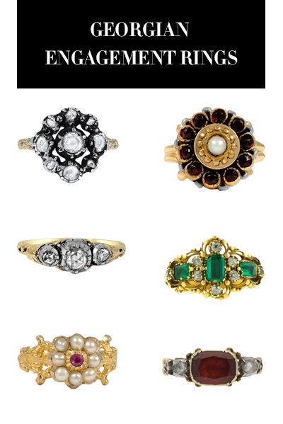 Georgian Engagement Rings