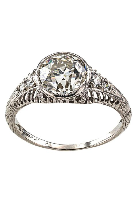 50 Vintage Engagement Rings Antique And Vintage Inspired