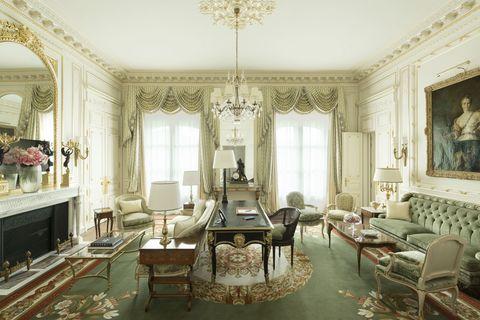 Room, Interior design, Floor, Furniture, Table, Flooring, Ceiling, Interior design, Living room, Chair,