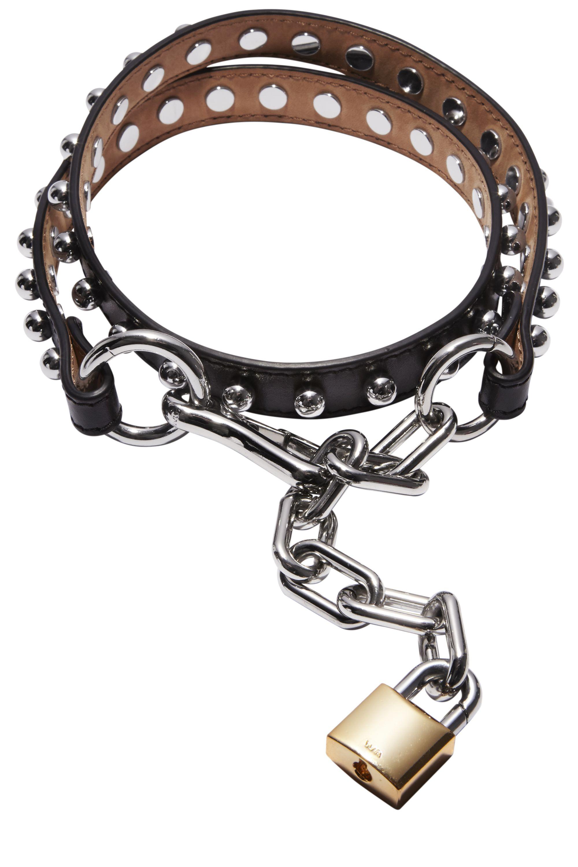 <p><strong>Alexander Wang</strong> belt, $275, 212-977-9683.</p>